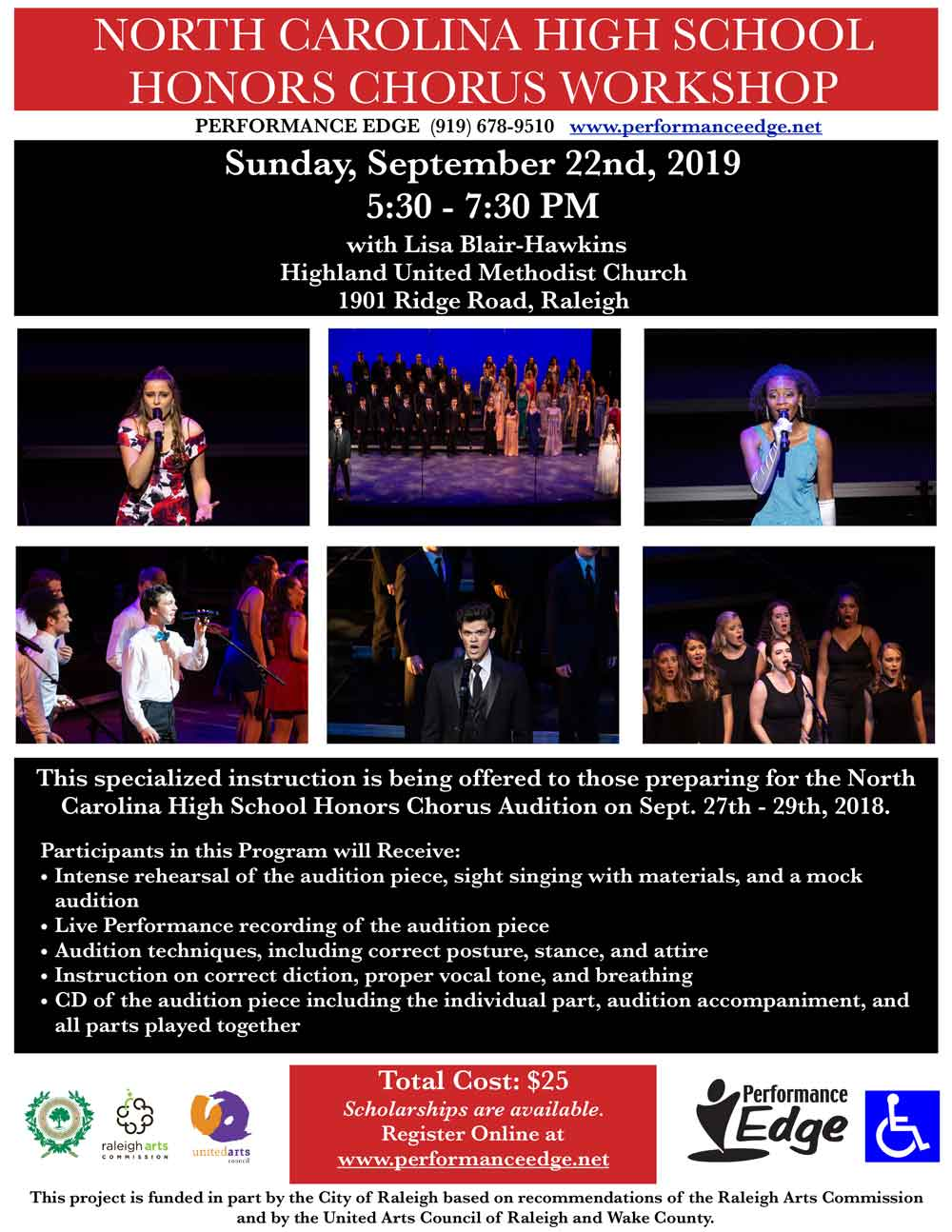 2019-NC-Honors-Chorus-Flyer